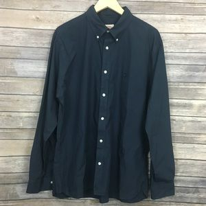 Brooks Brothers Red Fleece Button Down Shirt